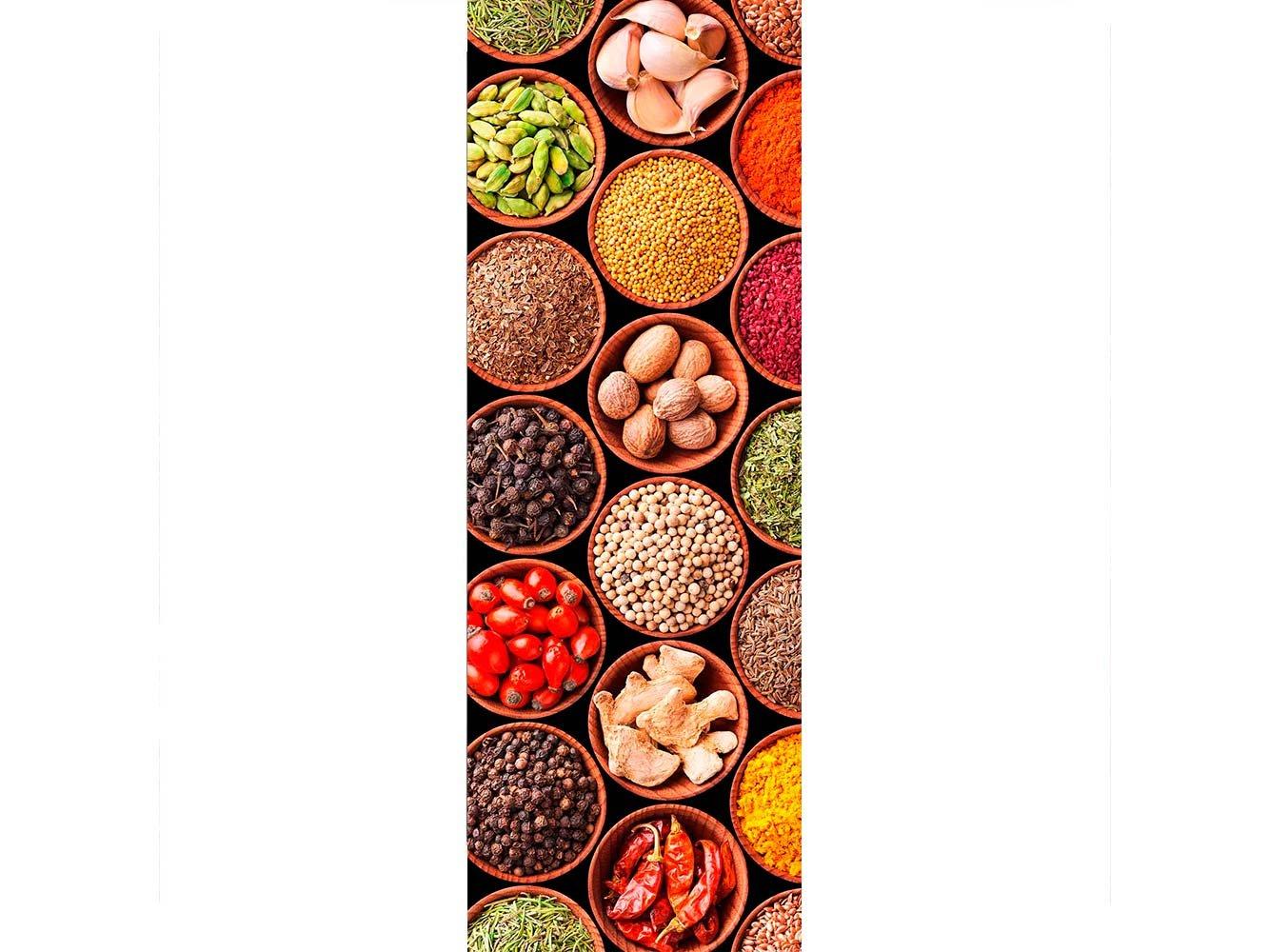 Oedim Vinilo para Frigorífico Verduras Legumbres Colores 185 x 70 ...