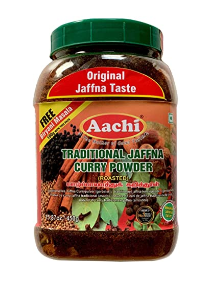 Aachi Masala Aachi Curry Powder Sri Lankan Traditional 1x 450gpack Of 1 With Free Biriyani Masala