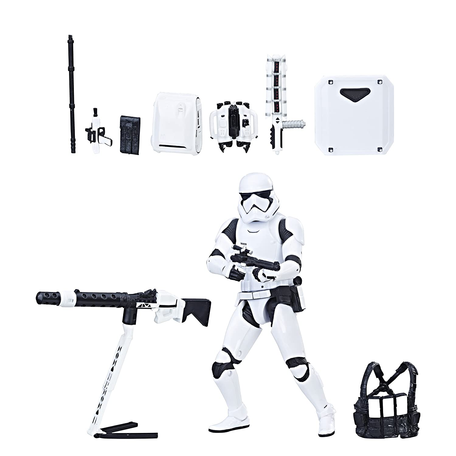 Star Wars The Black Series First Order Stormtrooper with Gear (Amazon Exclusive) Hasbro - Import C3228AT7