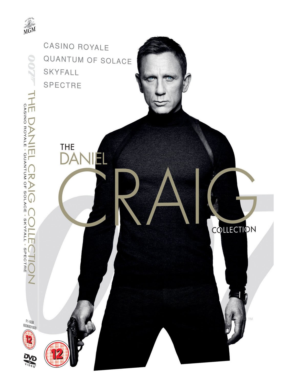 James Bond - The Daniel Craig Collection 4-Pack