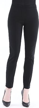 Amazon Com Vincente Pantalones Elasticos Para Mujer Para Mujer Pantalones De Tobillo Con Banda Elastica En La Cintura Y Control De La Barriga Clothing