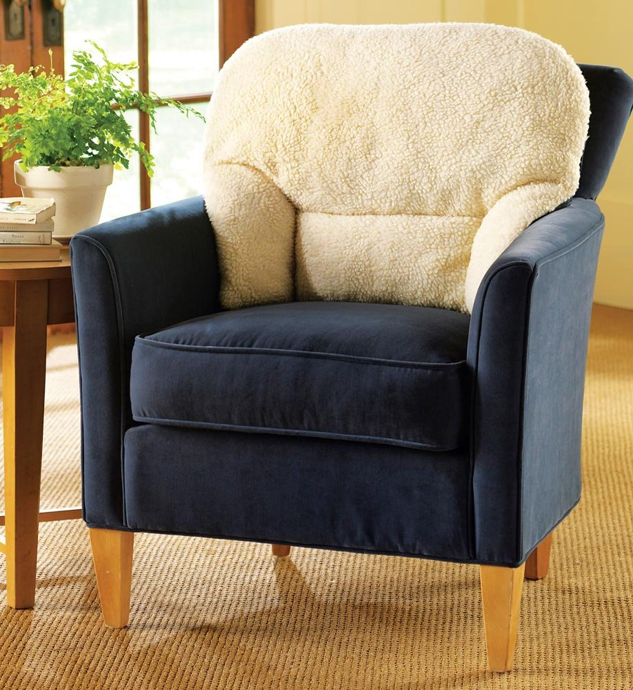 Amazon Fleece Back Support Pillow Home Kitchen