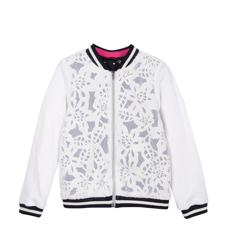 Catimini Floral Neoprene Teddy Jacket