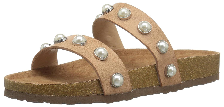 Naturel 36.5 EU Steve Madden Femmes Slide Chaussures