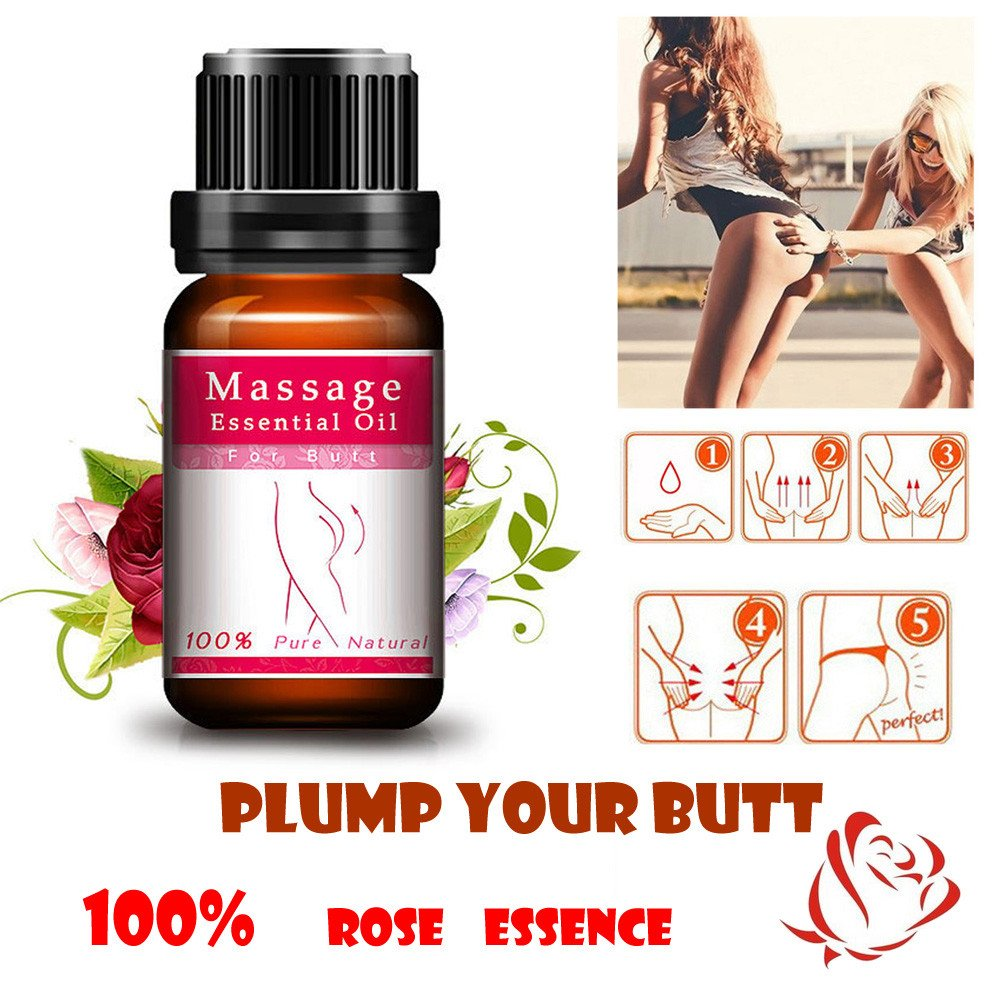 Essential Oil Clearance , Buttock Enhancement Massage Essential Oil Hip Lift Up Butt Firm Skin Enlargement  by Little Story