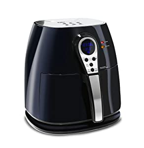 DIGITAL AIR Deep Fryer with Large 4.25 Quart Capacity and Adjustable Controls with LED Display