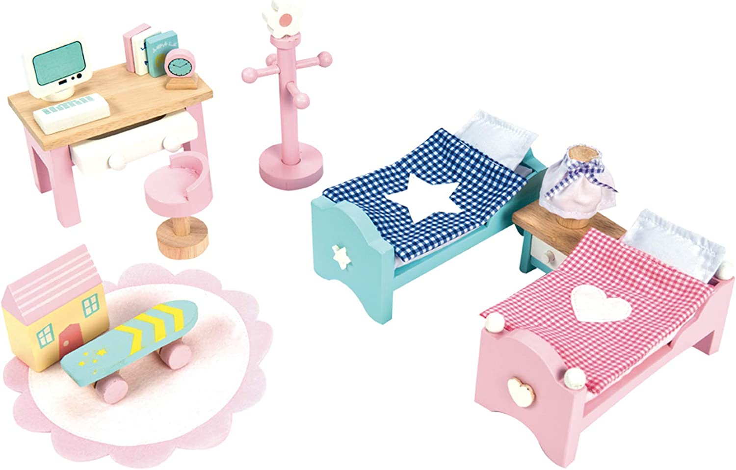 Le Toy Van Daisylane Children\'s Bedroom Premium Wooden Toys for Kids Ages 3  years & Up