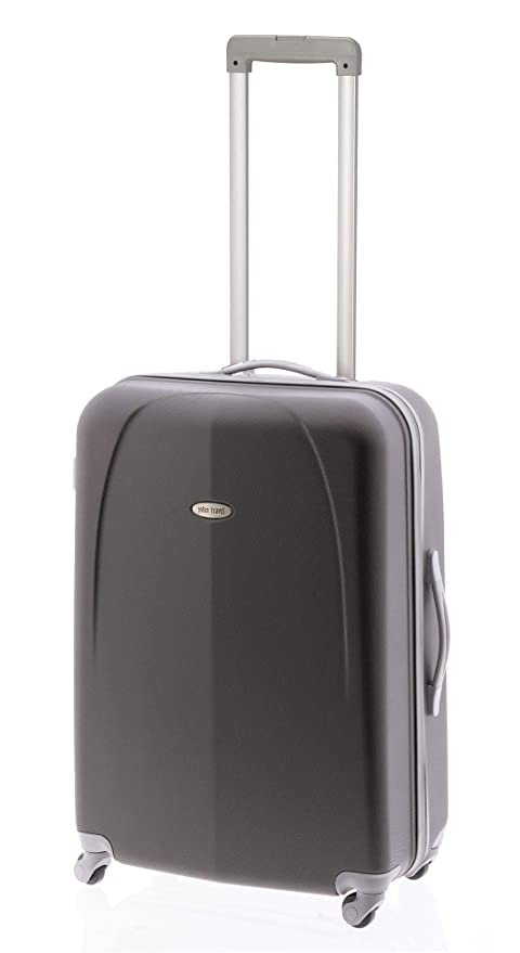 Maleta Mediana John Travel Fasten Gris: Amazon.es: Equipaje