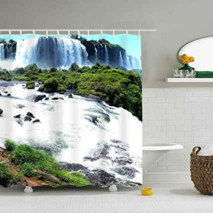 Amazon Com Ranhkdn Shower Curtain Most Beautiful Ever Wallpaper