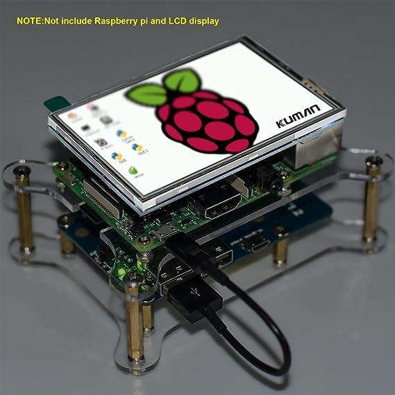 Amazon com: kuman for Raspberry Pi Lithium Battery Pack
