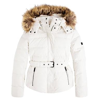 1fb4ff4d9118 Pepe Jeans Jacket Claris PL401256 Foam 808  Amazon.co.uk  Clothing