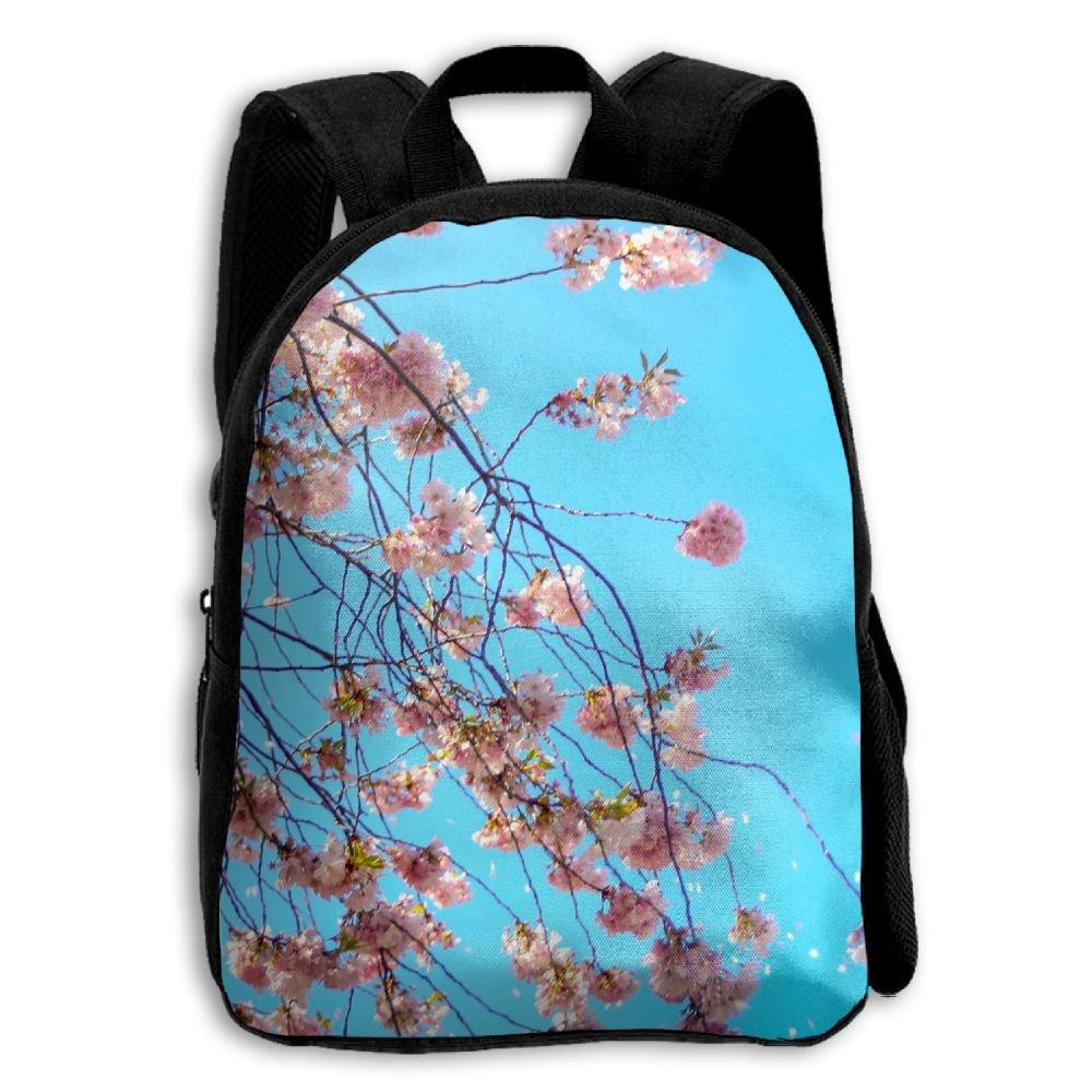 outlet Jilu Pink Cherry BlossomLightweight Oxford Travel School Print Backpack For Female Teen Kids