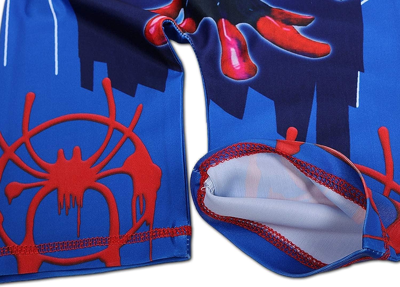 Costume da Bagno Bambino Spiderman Costume Nuoto Intero Bimbo Mare Piscina Costume Neonato Costumino Contenitivo con Cappuccio