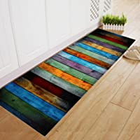 FEITONG Dining Room Carpet Shaggy Soft Area Rug Bedroom Rectangle Floor Non Slip Mat 60180Cm One Size Multicolor