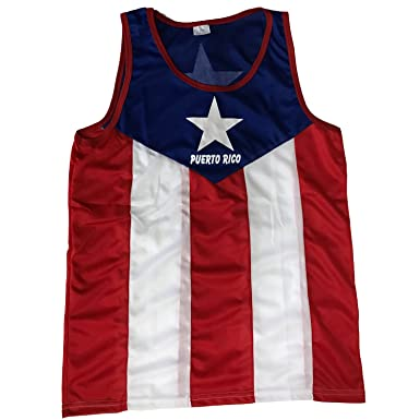 2d6971b0ec751a Tank Top Puerto Rico Flag at Amazon Men s Clothing store