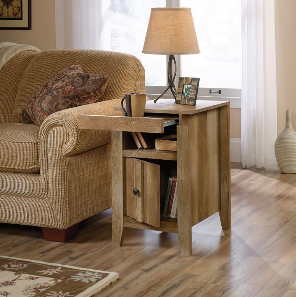 Amazon Sauder Side Table Furniture Craftsman Oak