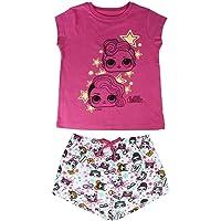 Cerdá Pijama Brilla en Oscuridad de Muñecas LOL Surpirse, Color Rosa para Niñas