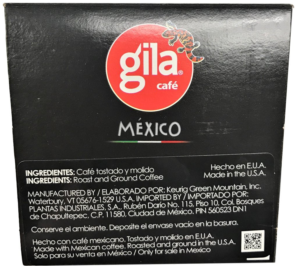 Café Gila Mexico Blend Coffee Single Serve Pods, 12 Count Box (24 Pods): Amazon.com: Grocery & Gourmet Food