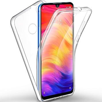 603f04c6c93af Xiaomi Mi 9 (Mi9) Coque 360 degrés Protection intégrale arrière PC Case et  Avant TPU Transparente Smartphone - Accessoires Pochette Exceptional ...