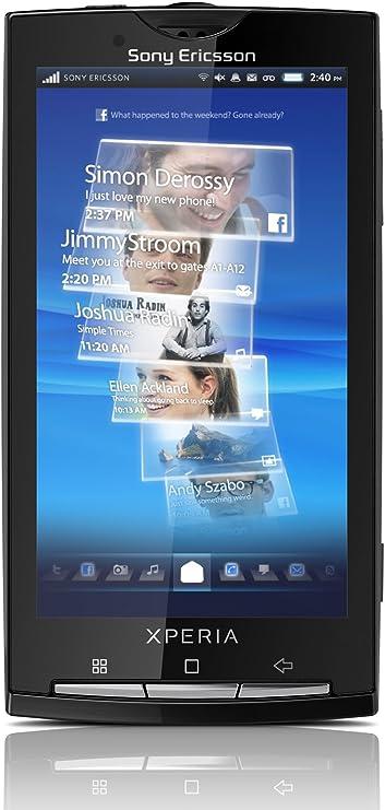Sony Xperia X10 - Smartphone libre Android (pantalla de 4