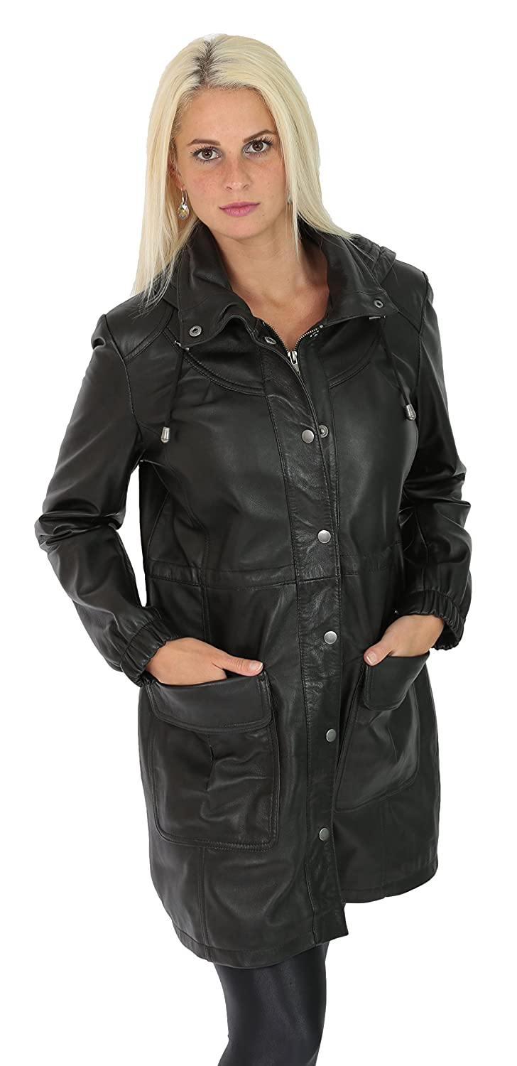 Amazon A1 48 Donna Montgomery Fashion it Black Goods Cappotto 00qHACw