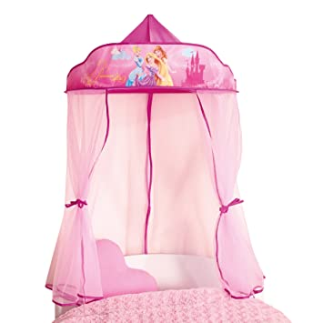 Disney Princess Bed Canopy for Single Bed and Toddler Bed by Disney Princess  sc 1 st  Amazon.com & Amazon.com: Disney Princess Bed Canopy for Single Bed and Toddler ...