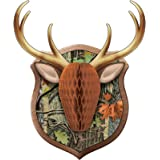 """Creative Converting Hunting Camo Antler Decoration, 1 ct, Multi-colored, 19.36"""" x 16"""""""