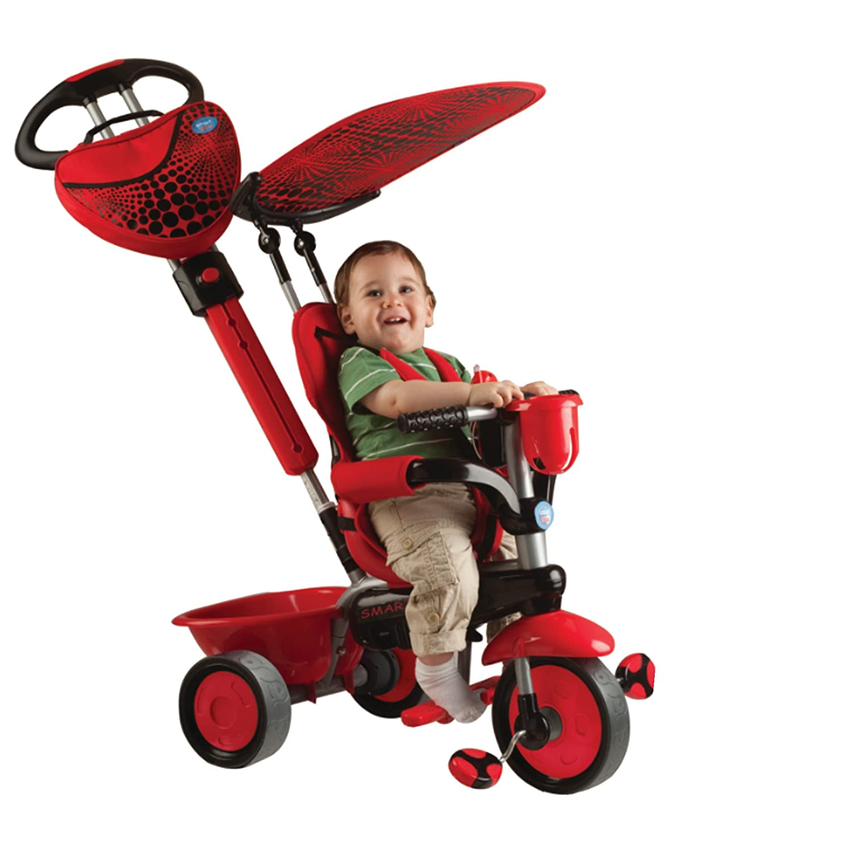 tricycle dream rouge de smart trike. Black Bedroom Furniture Sets. Home Design Ideas