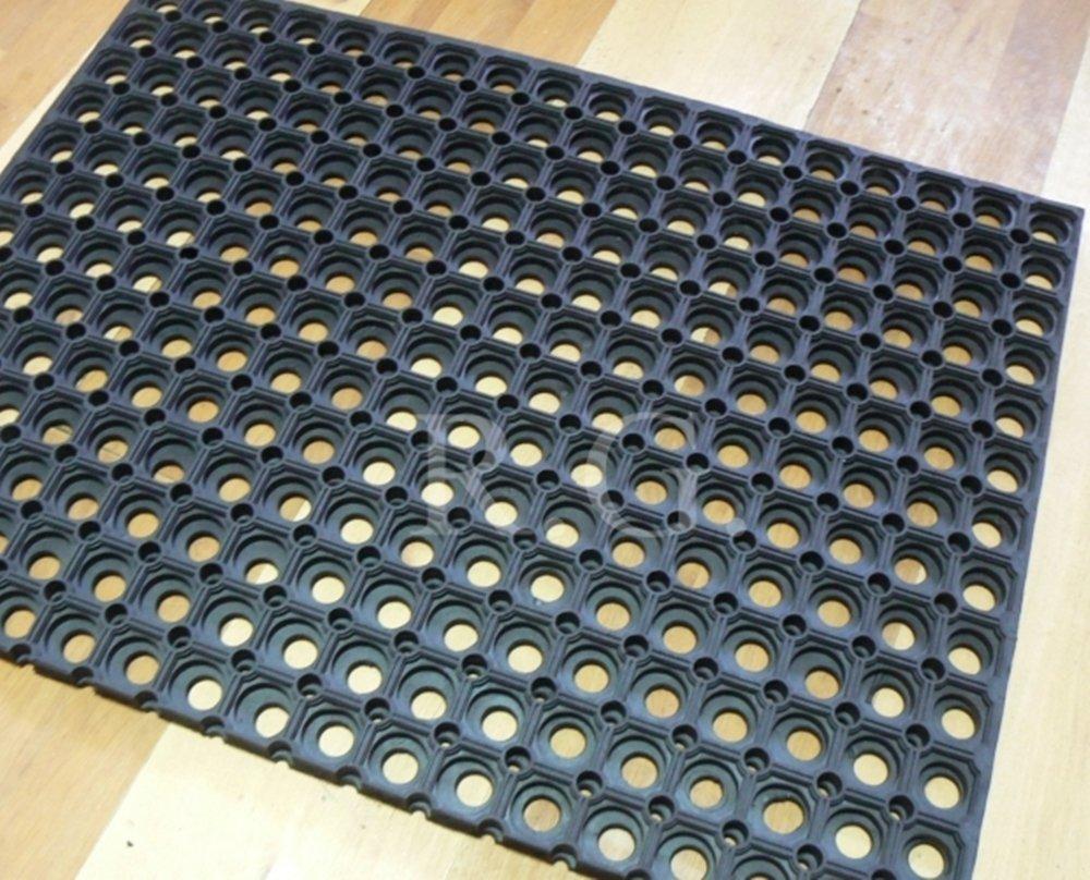 40x60 Gummimatte Schmutzfangmatte Ringgummimatte Ringmatte Verbinder 4 Gr/ö/ßen