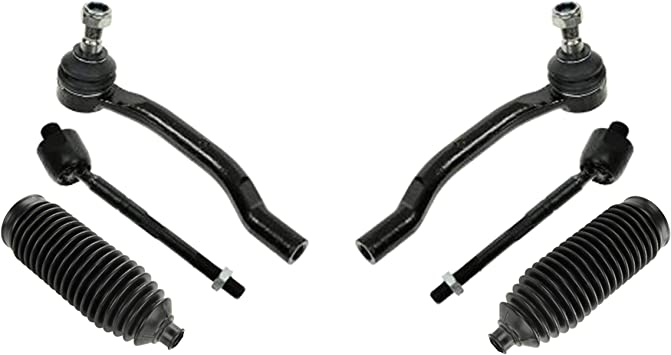 Front Steering Tie Rod End Kit For Honda Pilot Acura MDX