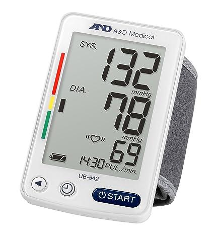 A&D Medical UB-542XL Tensiómetro digital de muñeca, blanco