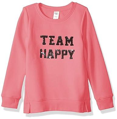 fc9f9e94 Amazon.com: OshKosh B'Gosh Girls' Kids Flip Sequin Pullover: Clothing