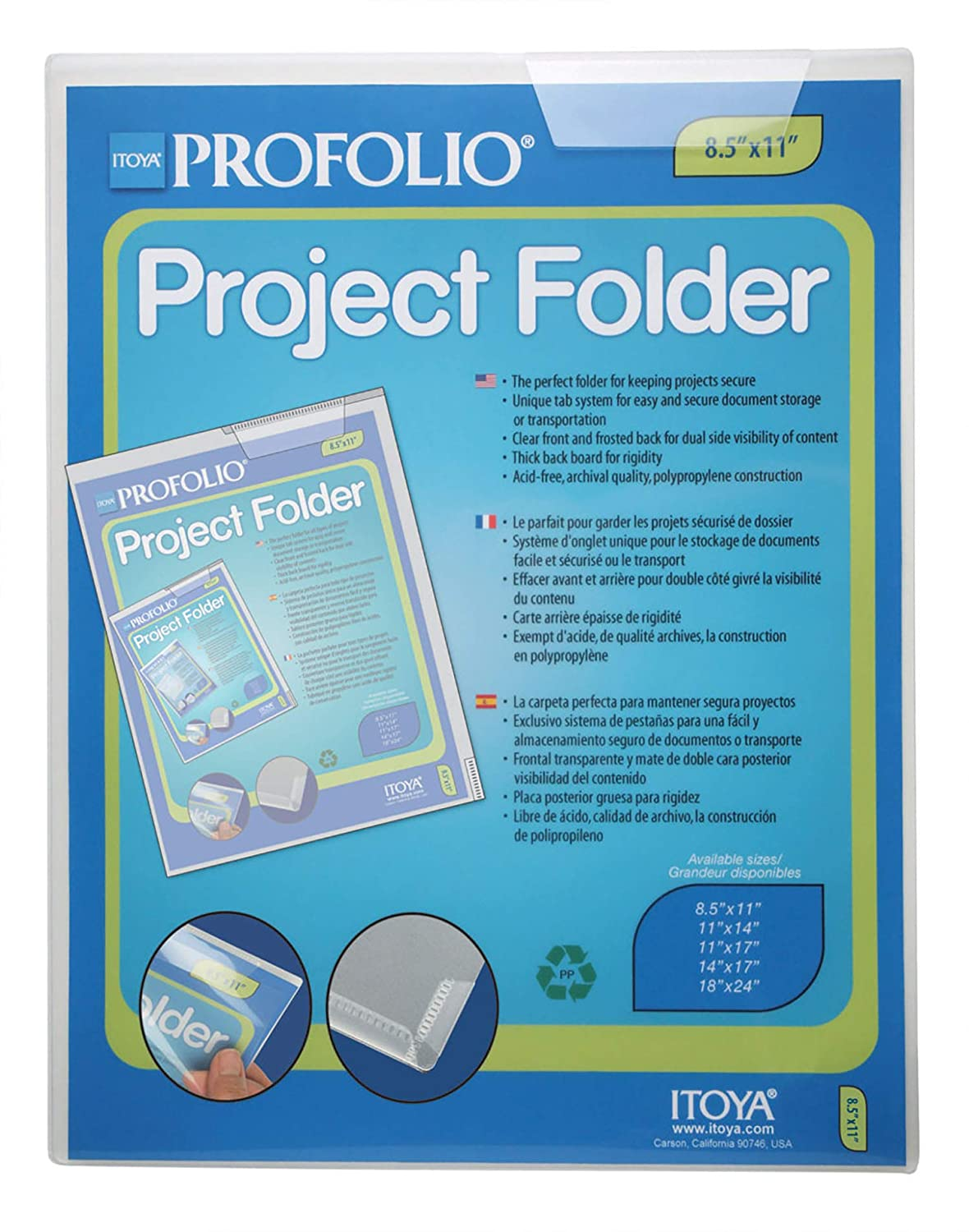 Project Folder ProFolio by Itoya 18 x 24 Inches