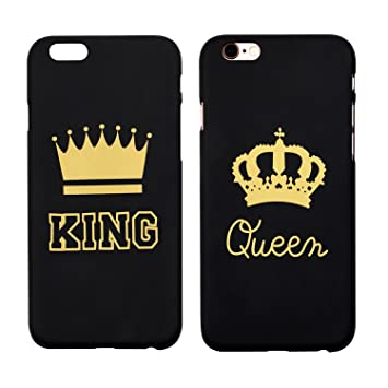 coque femme iphone 7 plus queen and king