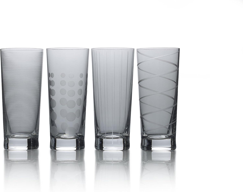 Set of 4 19.75-Ounce Mikasa Cheers Highball Glass