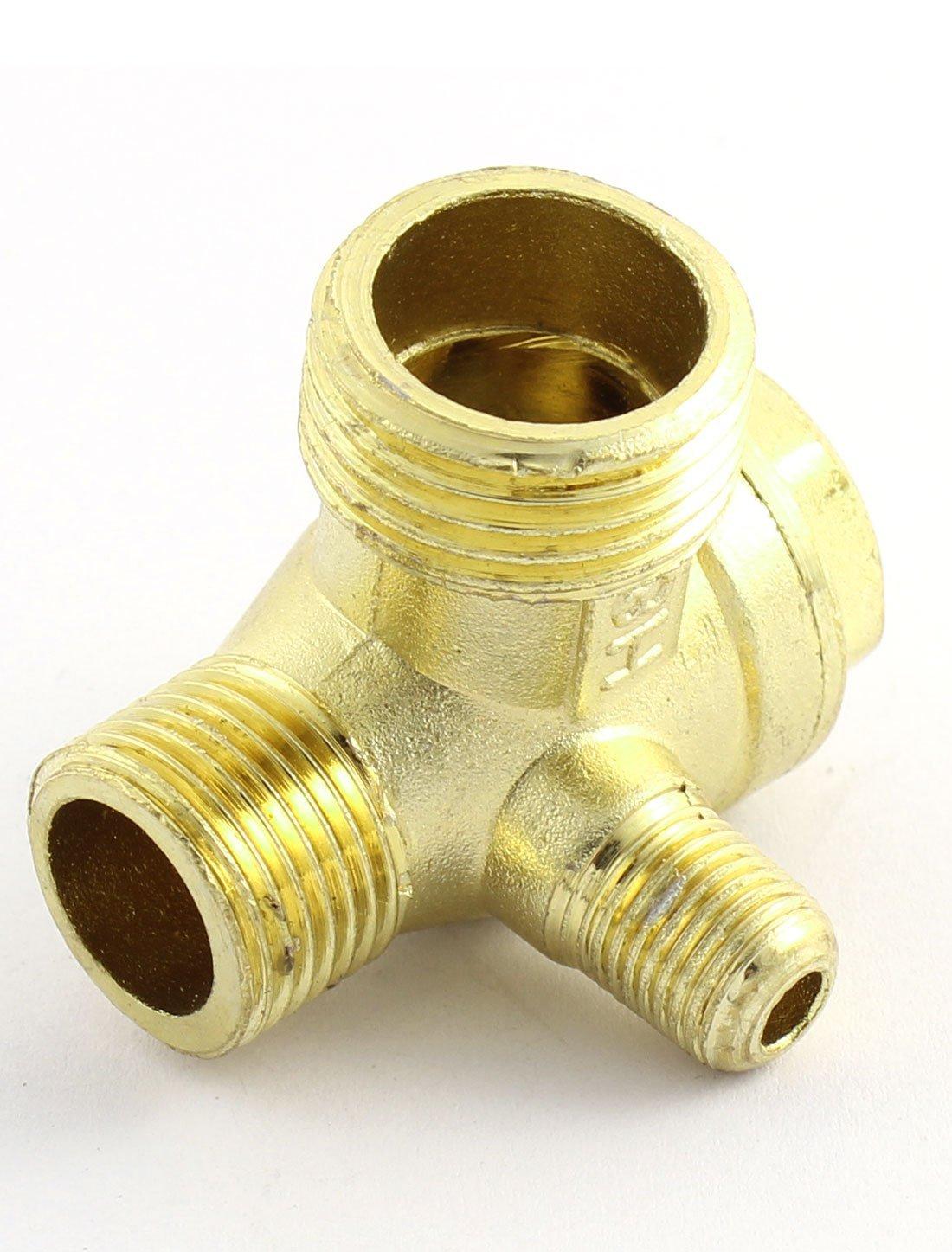 eDealMax DE 3 vías del compresor de aire de reemplazo de piezas Con rosca Macho Válvula de retención: Amazon.com: Industrial & Scientific