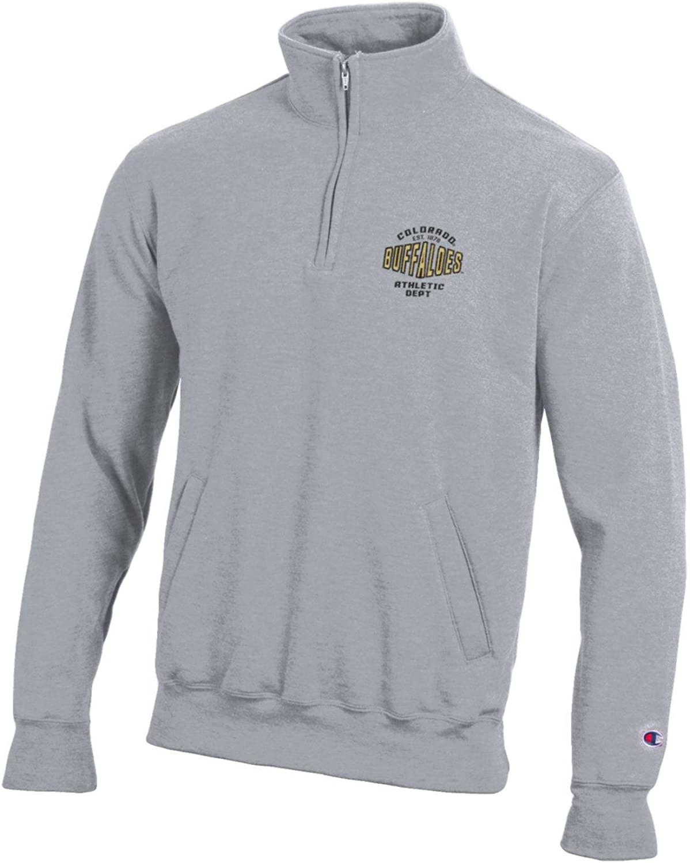NEW Champion Iowa Hawkeyes Men/'s Fleece 1//4 Zip Jacket Black Size Large