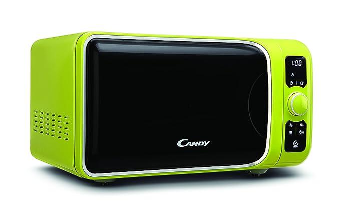 Candy EGO-G25DCG - Microondas con grill, 25 L, 900 W / 1000 W, 6 programas automáticos, color verde