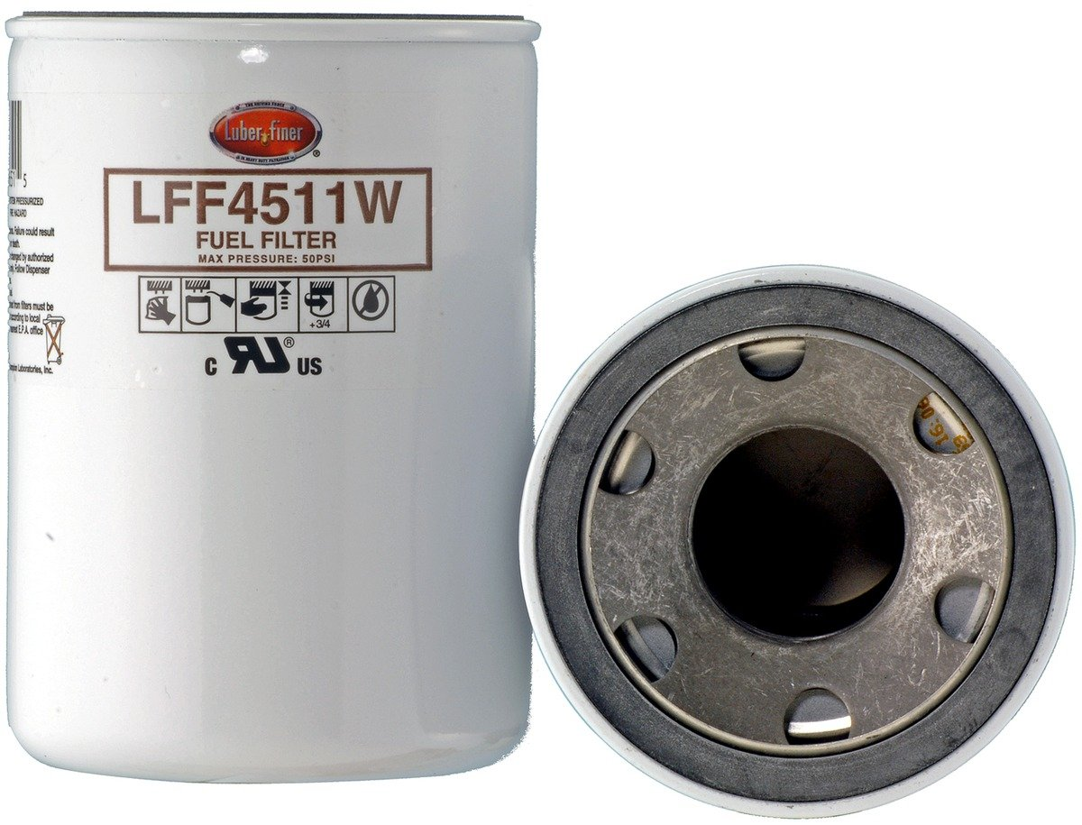 12 Pack Luber-finer LFF4511W-12PK Heavy Duty Fuel Filter