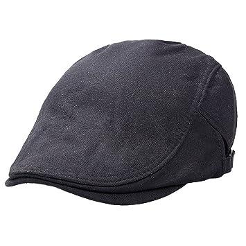 Panegy - Gorra de Visera Para Mujer Boina del Vendedor de Periódicos Para Hombre Sombrero Para Navidad Clásico Sombrero de Golf - Negro: Amazon.es: Deportes ...