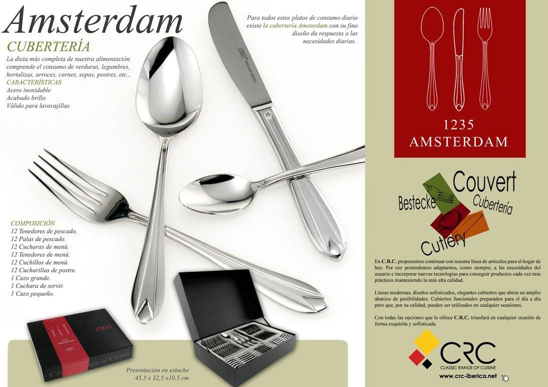 AMSTERDAM, Cubertería 75 piezas en estuche regalo + JUEGO DE CAFÉ ...