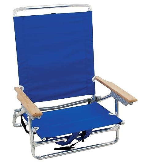 Rio Beach Classic 5 Position Lay Flat Folding Beach Chair  sc 1 st  Amazon.com & Amazon.com : Rio Beach Classic 5 Position Lay Flat Folding Beach ...