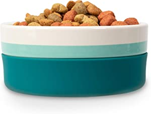 Now House by Jonathan Adler for Pets Ceramic Bowls and Durable Ceramic Pet Food Bowls | Great for Wet Food, Dry Food, and Water | Available in Multiple Prints and Sizes