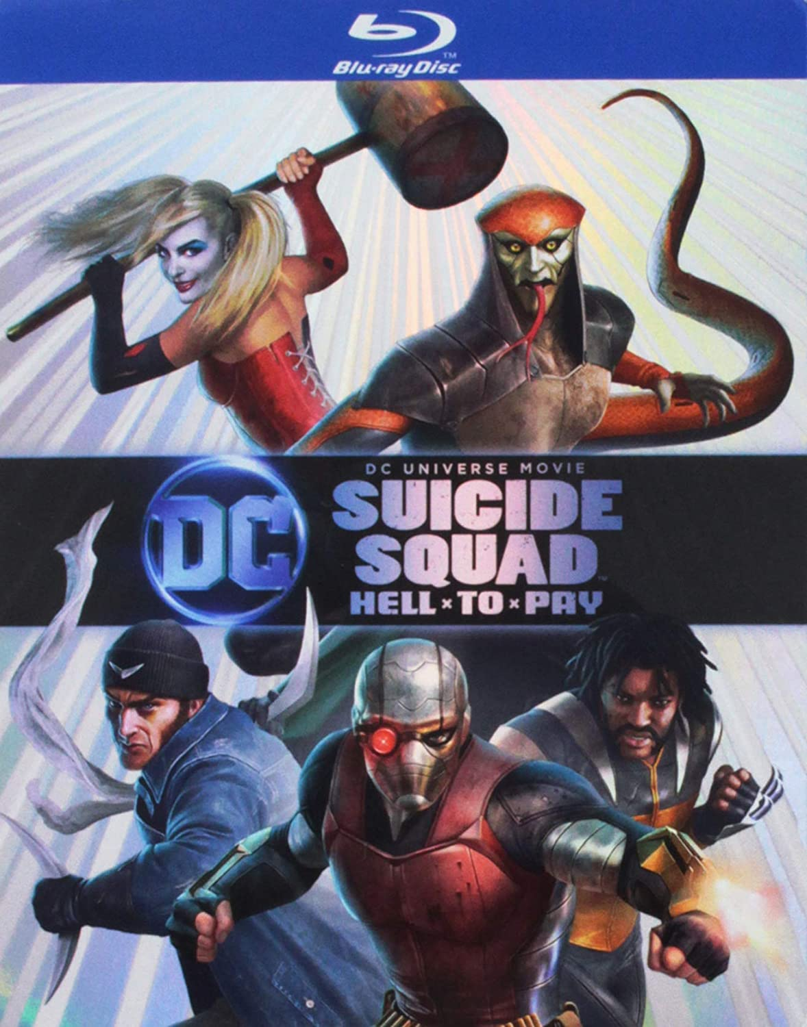 Amazon Com Dcu Suicide Squad Hell To Pay Bd Blu Ray Various Various Movies Tv