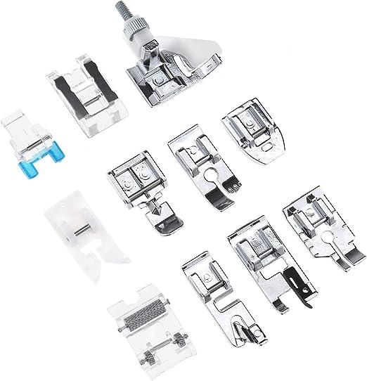 Tornillo de máquina de coser en zig zag pie se adapta a la mayoría de las máquinas de coser doméstica