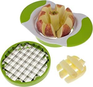 Freshware 2-in-1 Fruit and Vegetable Cutter