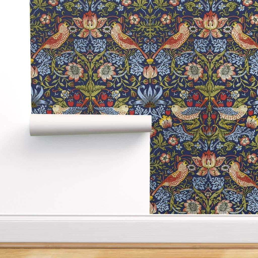 Peel And Stick Removable Wallpaper Victorian Victorian Floral