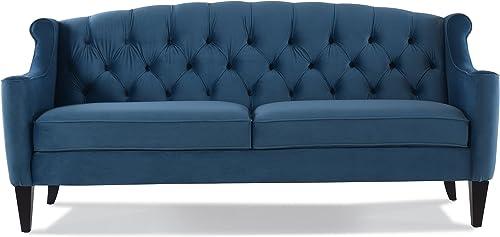 Jennifer Taylor Home Ken sofas, Satin Teal