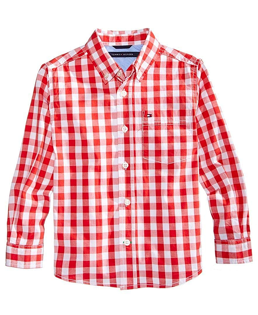 Tommy Hilfiger Boys Gingham Shirt