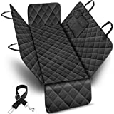 URPOWER 100% Waterproof Pet Seat Cover Car Seat Cover for Pets - Scratch Proof & Nonslip Backing & Hammock, Quilted, Padded,